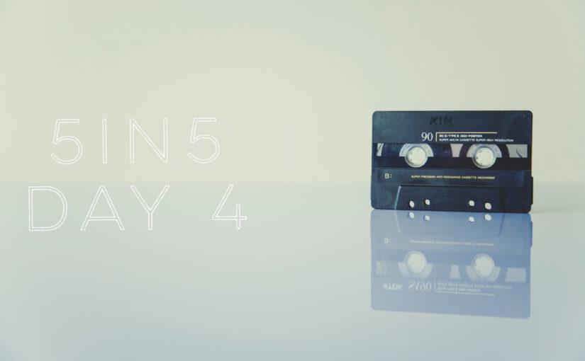 5in5 | day 4 |2016
