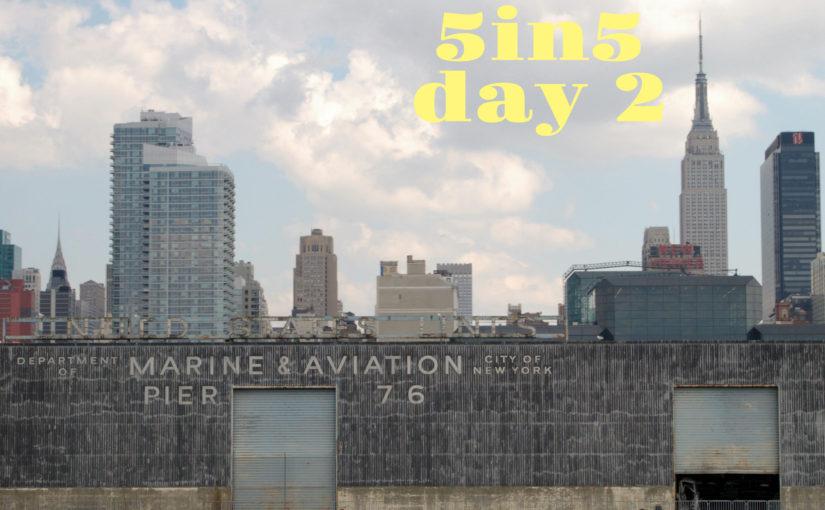 5in5 | day 2 |2016