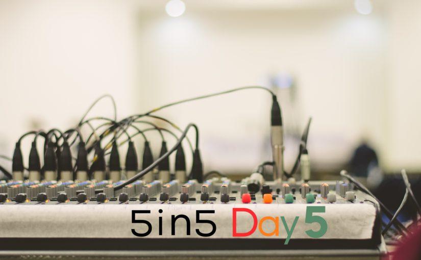 Finish Line/Starting Line, Day 5